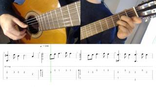 Tutorial: The Bannered Mare - The Elder Scrolls V: Skyrim on Guitar (with tab & sheet)