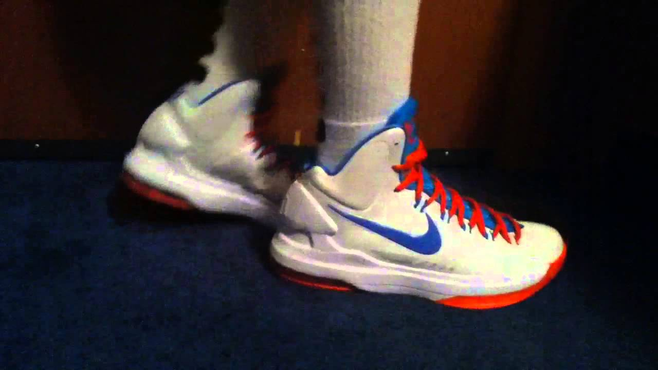 white kd 5 Kevin Durant shoes on sale