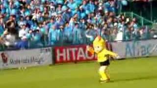 J2リーグ戦第47節 柏レイソル×横浜FC 試合前 2006年10月28日 日立...