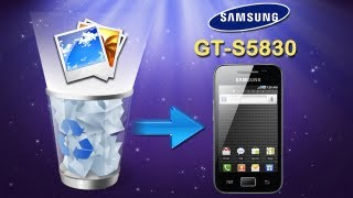 Galaxy ACE Photos Recovery: How to Retrieve Deleted Photos from Samsung Galaxy Ace (GT S5830)?