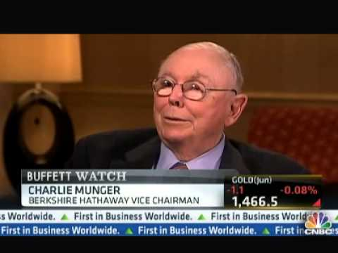 Charlie Munger on Cyprus and Bankers