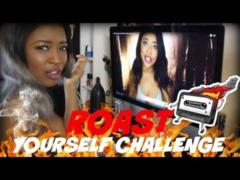ROAST YOURSELF CHALLENGE | HEY PARIS | DISS TRACK TO MYSELF