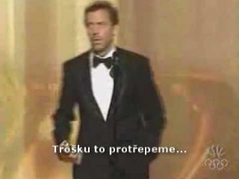 Hugh Laurie (House) - Golden Globe 2006 Czech subtitles