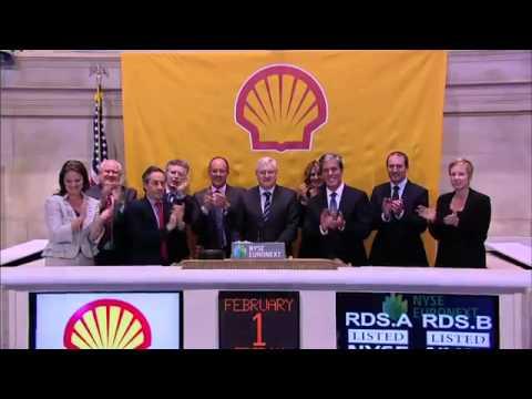 Royal Dutch Shell plc Visits the NYSE