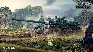 AMX 30 ДОКАЧ, STREAM - 17.09.2018 [ WoT ]