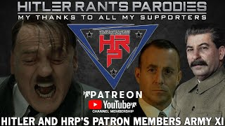 Hitler and HRP's Patron/Members Army XI