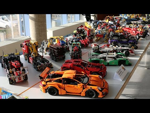 Riesige LEGO Technic Sammlung