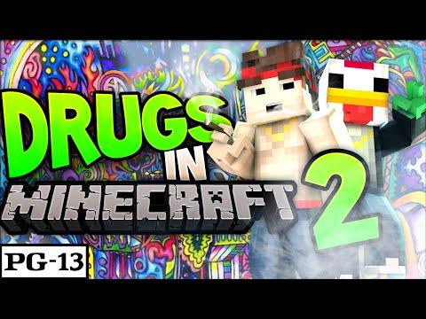 DRUGS In MINECRAFT? | Episode 2 - Minecraft Drug Server!