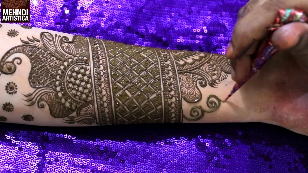 New Bridal Mehndi Designs 2017 For Full Hands:  Bridal Arabian Mehendi For rh:youtube.com,Design