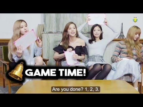 Who Wins?! Most Knowledgeable Blackpink Member?   BLACKPINK FUNNY MOMENTS