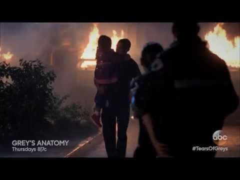 Grey's Anatomy  Tears of Greys  April & Jackson  Emotional Bus Explosion