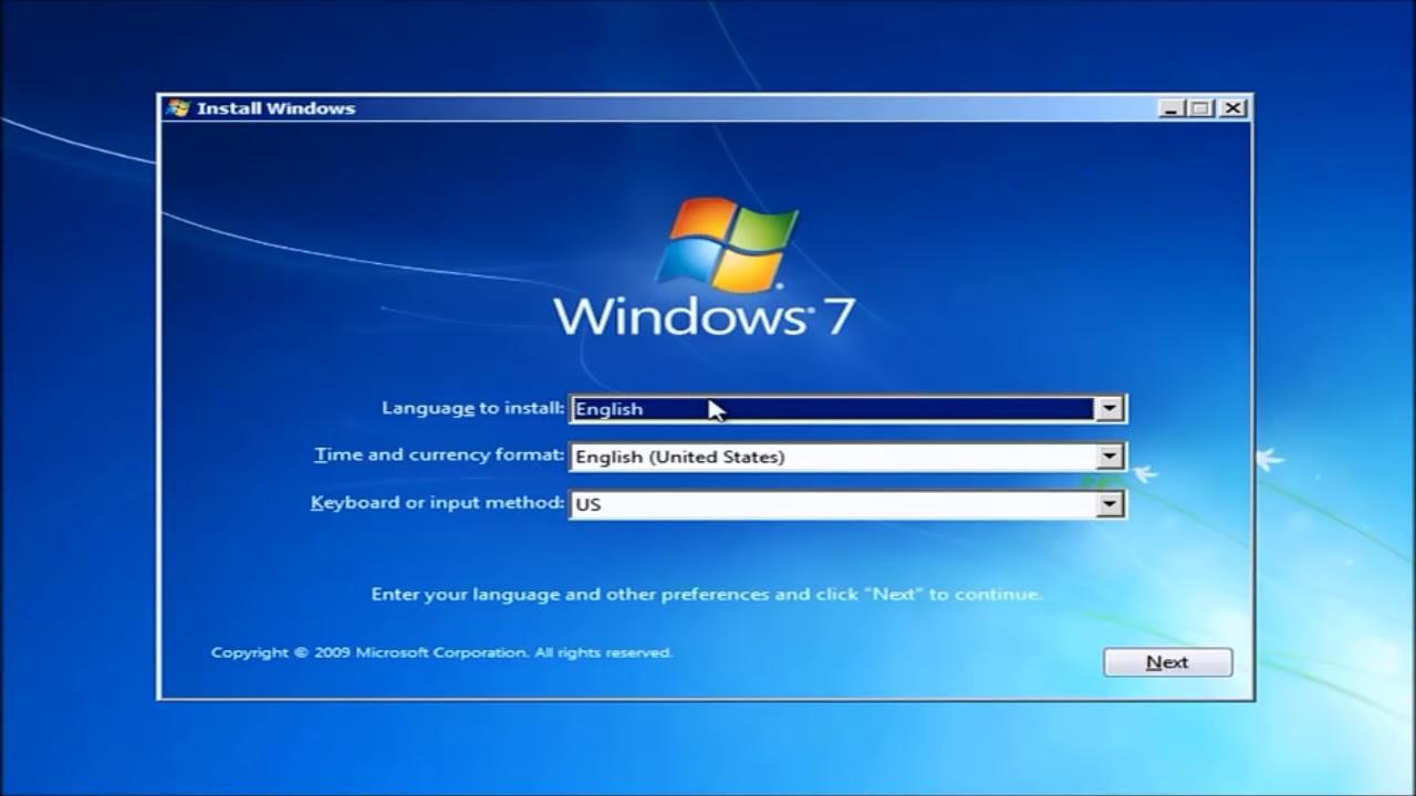 تحميل iso windows 7