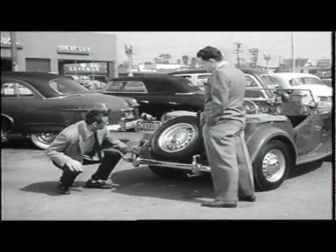 Cary Grant  Marilyn Monroe Car