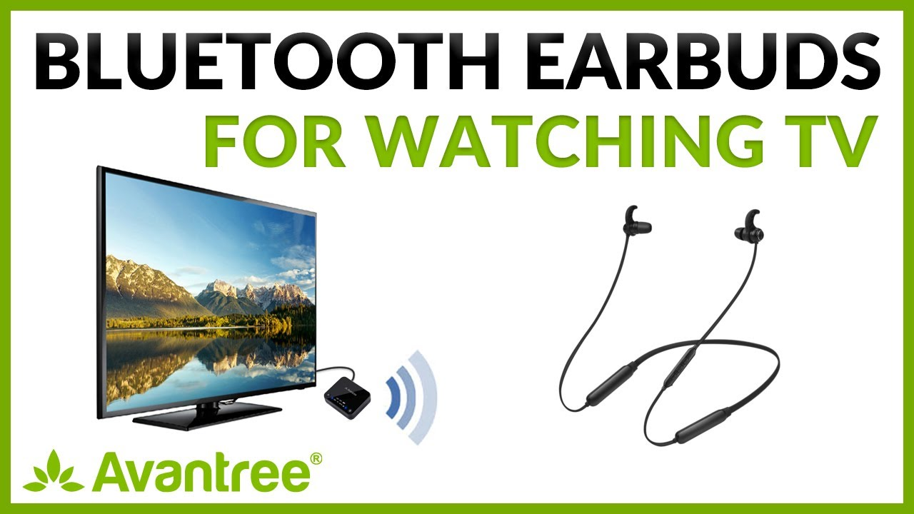 a6e71faa306 How to Use Avantree Wireless Earbuds HT4186 for TV Watching - YouTube