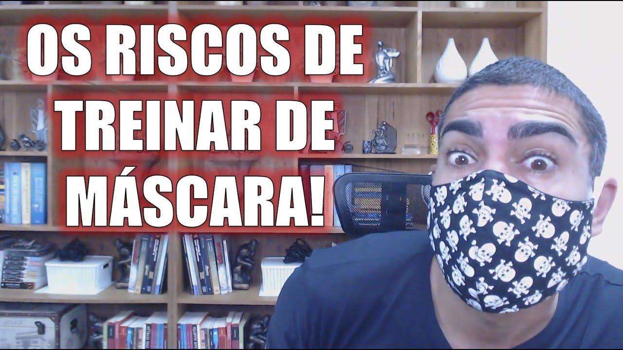 O riscos de treinar de máscara (e algumas dicas importantes)