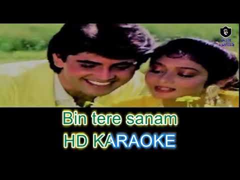 Bin Tere Sanam (Remix Version) HD KARAOKE WITH FEMALE VOICE BY AAKASH