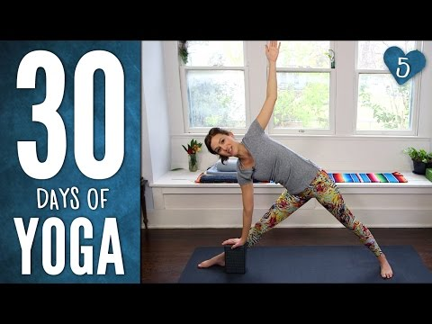 Day 5 - FEEL ALIVE FLOW- 30 Days Of Yoga