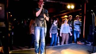 me singing karaoke follow me by uncle kracker