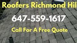 Roofers Richmond Hill, Richmond hill ON (647) 559-1617