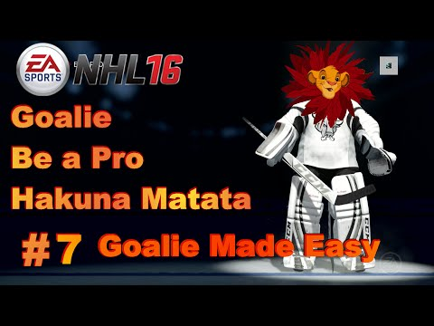 NHL 16 Goalie Be A Pro #7- NHL17 Talk/New Rules