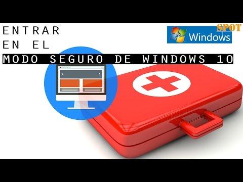 Iniciar Windows 10 en modo seguro o a prueba de fallos