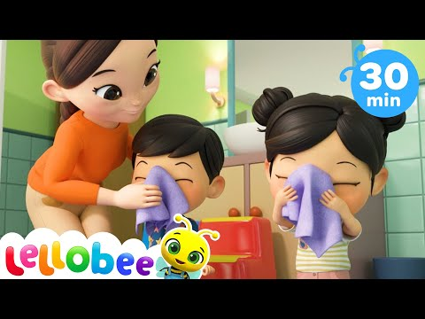Bedtime Brush Your Teeth Song | Nursery Rhymes & Kids Songs - ABCs and 123s | Little Baby Bum