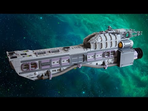 Lego Deep Space Exploration Ship (With Power Functions!)