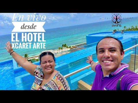 📸🔴 En vivo desde HOTEL XCARET ARTE 2021 ✅ Dudas y Más
