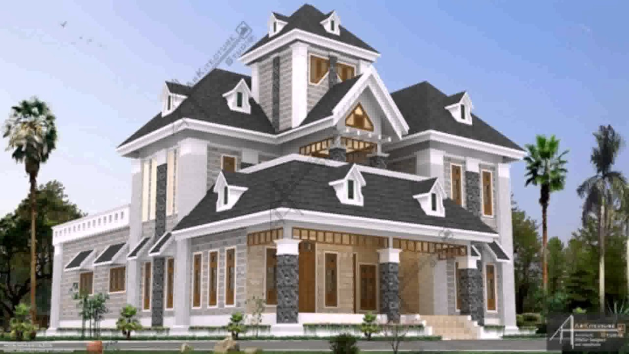 European style house plans kerala youtube for European style house