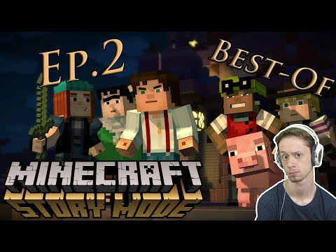 [BEST-OF_Playtrough] Minecraft : Story Mode / Ep.2 [FR] [50FPS] [HD1080]