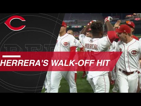 Herrera leads Reds to walk off against Cardinals