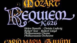 (Complete) Mozart Requiem, K. 626 - CM Giulini, 1979 - Philharmonia Orchestra (Indexed) - Vinyl LP