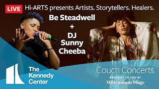 Kennedy Center Couch Concert - Hi-ARTS presents Artists. Storytellers. Healers.