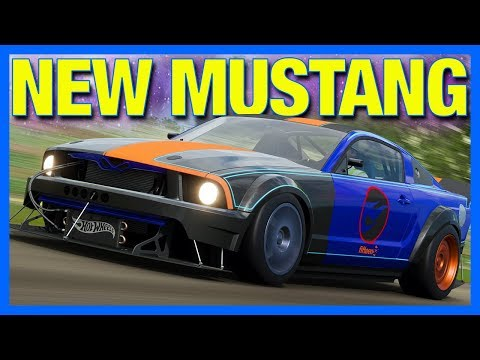 Forza Horizon 4 : THE HOT WHEELS MUSTANG!! (How To Unlock Hot Wheels Mustang) thumbnail