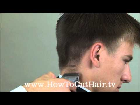 Taper Haircut How To Blend Mens Hair With Clippers Youtube