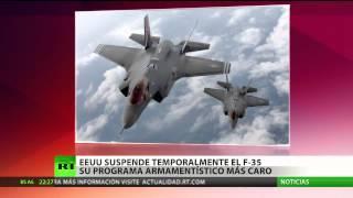 El Pentágono suspende 51 vuelos de cazabombarderos F-35 de quinta generación
