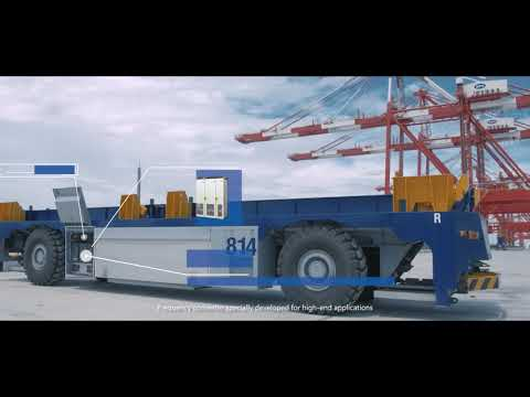 INVT's First Port Lifting Marine Industry Propaganda Film
