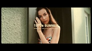 1970s Summer | Cinematic Fashion Film | Canon 6D with Zhiyun Weebill S