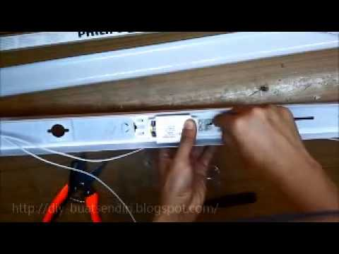 do it diy cara pemasangan lampu pendaflour kalimantang youtube rh youtube com wiring lampu kalimantang led wiring lampu kalimantang led