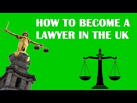 How to become a lawyer in England