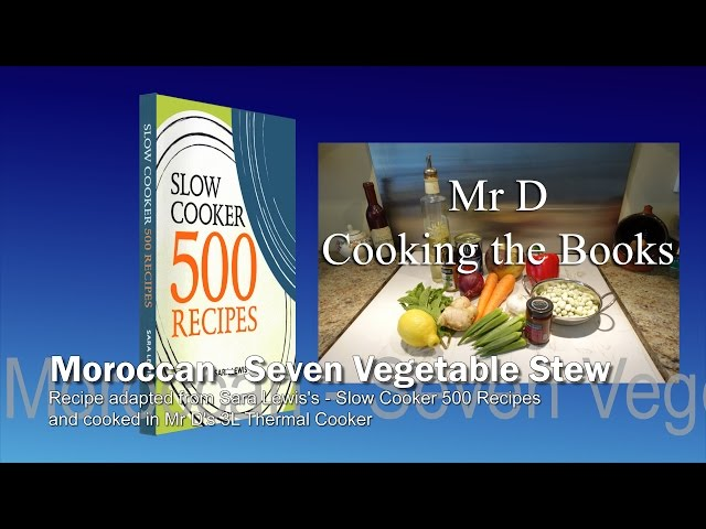 Moroccan Vegetable Stew YouTube