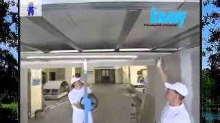 Потолок из гипсокартона своими руками(Как правильно установить потолок из гипсокартона своими руками. Потолок и обработка гипрока. Подробнее..., 2014-11-10T23:11:58.000Z)
