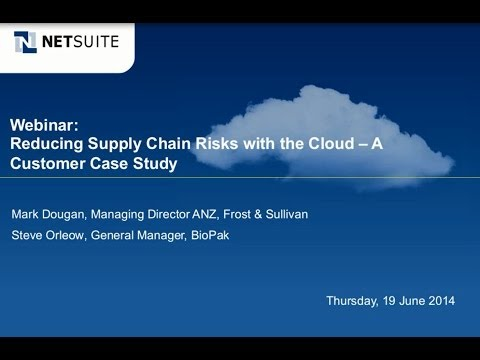Webinar: Reducing Supply Chain Risks with the Cloud - A Customer Case Study