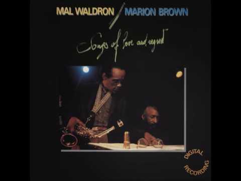 Mal Waldron & Marion Brown   Songs of love & regrets LP 1985