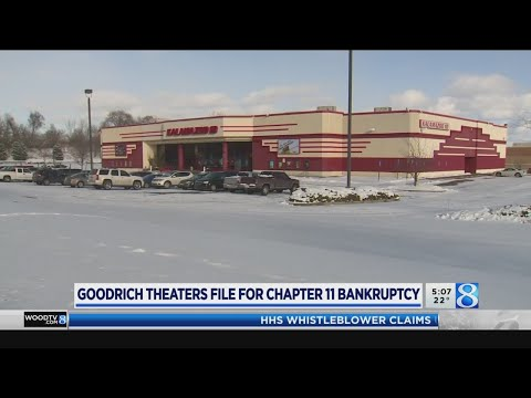 Goodrich Quality Theaters Files For Bankruptcy
