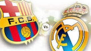 BBVA: La Liga: Real Madrid - Barcelona 1-1(2015)