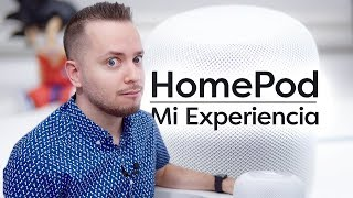 My experience with HomePod
