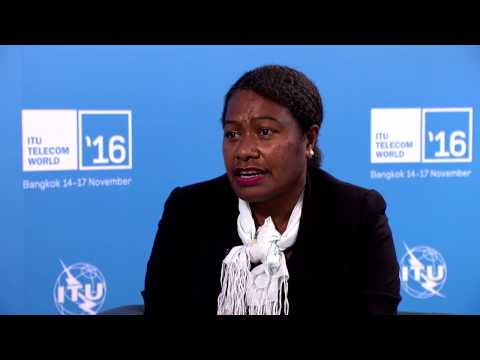 ITU TELECOM WORLD 2016: Dalsie Baniala, Telecommunications and Radicommunications Regulator, Vanuatu
