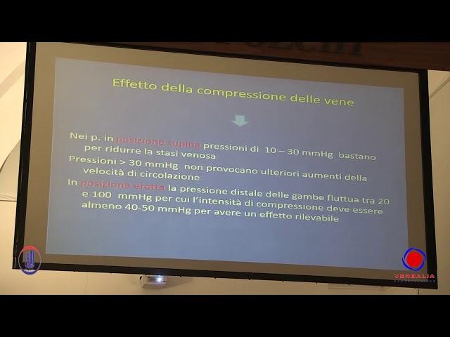 LA MALATTIA VENOSA CRONICA. IL RUOLO DELLA TERAPIA ELASTOCOMPRESSIVA - F. Conti