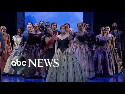 Broadway's 'Frozen' cast performs 'For the First Time in Forever'